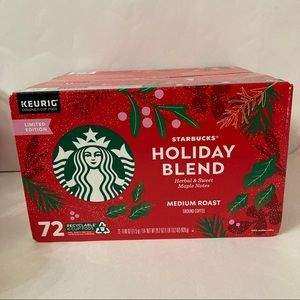 Starbucks Coffee Holiday Blend K-Cup Pods